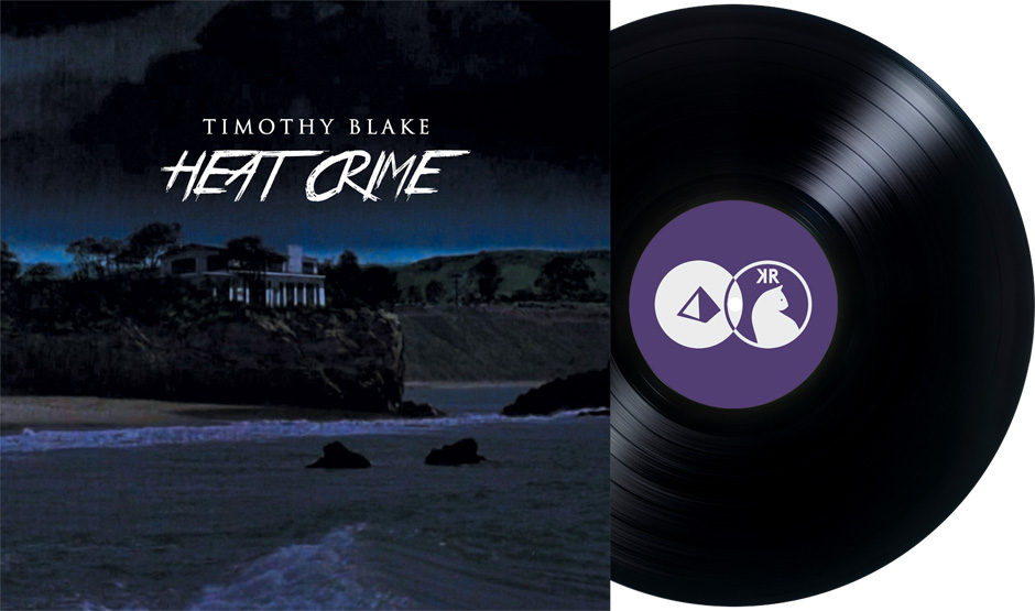 KRR002: Timothy Blake \'Heat Crime\' - Kleine Reise Record\'s second release.